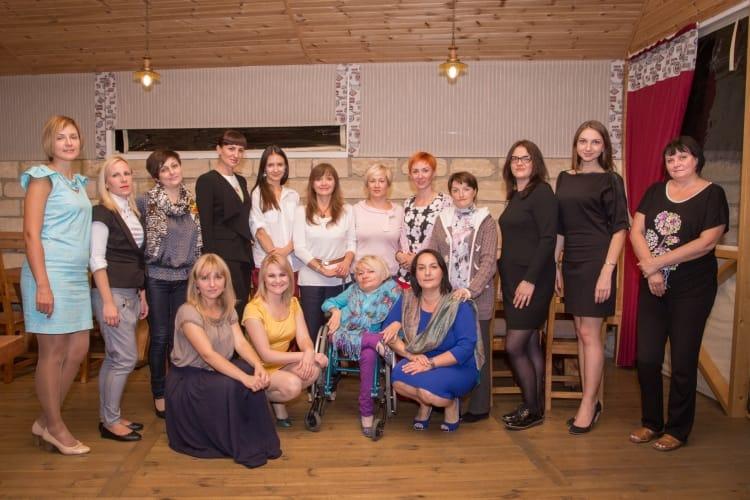 «Амбітна пані» на авторській школі Олени Павлової